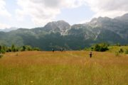 The tour covers some of the most scenic parts of northern Albania hiking