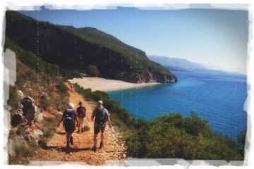 hiking scenic southern albania holiday walking tourist destination western balkans relaxing delicious food tropical beaches