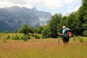 Trekking through Valbona Valley