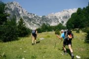 You will hike about 6 hours per day and all the overnight stays are in local guesthouses Albania hiking