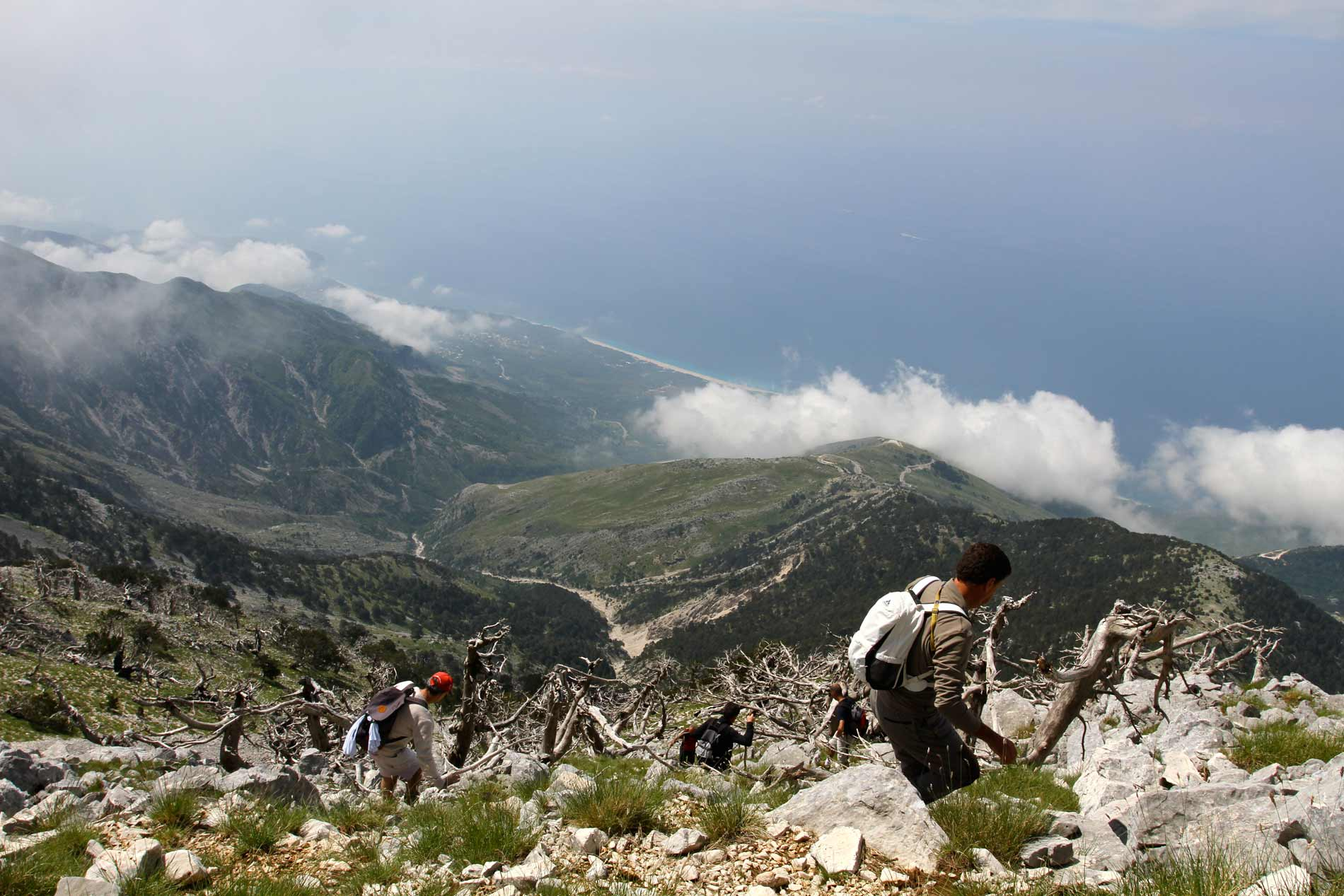 Hiking in South Albania is for people who enjoy a balanced mix of hikes, cultural visits and relaxation in the beautiful South of Albania.