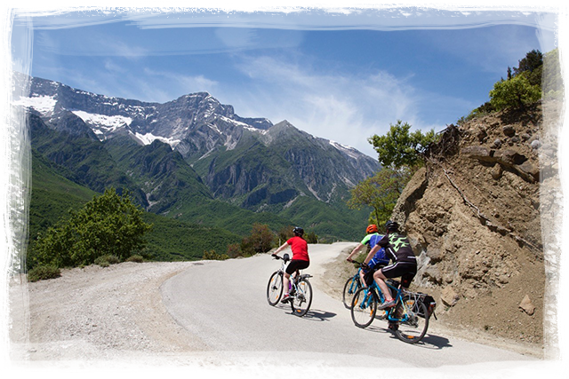 Cycling albania agent best travel outdoor holiday biking book enquiry form tailor made enquiries