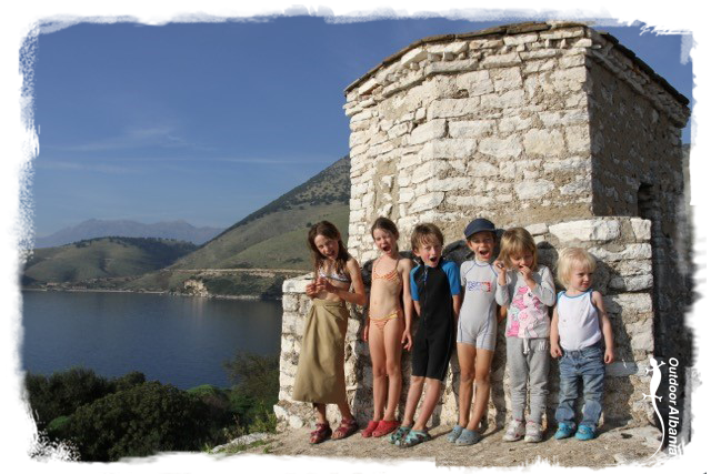 Family travels with Outdoor Albania
