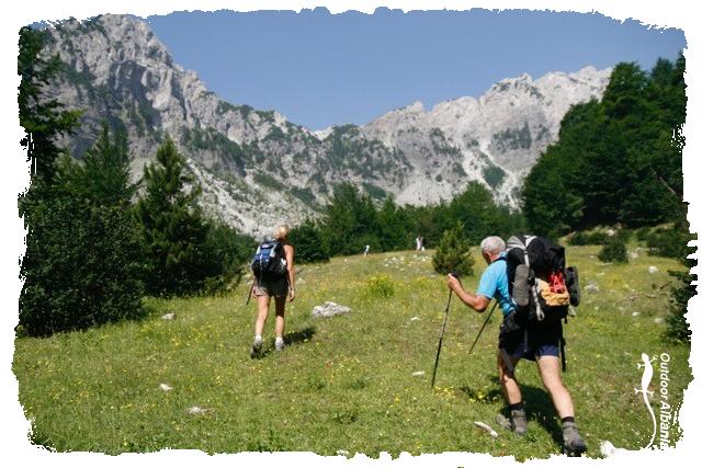 Walking and trekking Outdoor Albania
