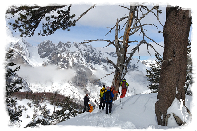 Snow-shoeing with Outdoor Albania