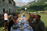 Albanian food Self-guided Outdoor Albania cultural discovery walking hiking swimming cycling trekking rafting snowshoeing river hiking tours holidays travel family kayak ski yoga trekking day trip Western Balkans Peaks of the travel
