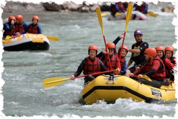Rafting the mighty Osumi Canyon