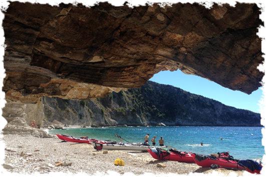 Sea kayaking with Outdoor Albania