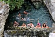 Plenty of time to relax afterwards rafting Albania Vjosa family holidays