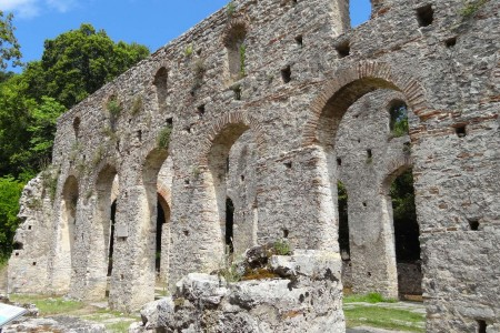 Butrint Albania sights holiday cultural discovery unesco heritage ancient sun relax see watch travel walk trek