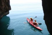 In this kayak trip you will paddle along the most pristine beaches of the Albanian coast Albania sea kayaking