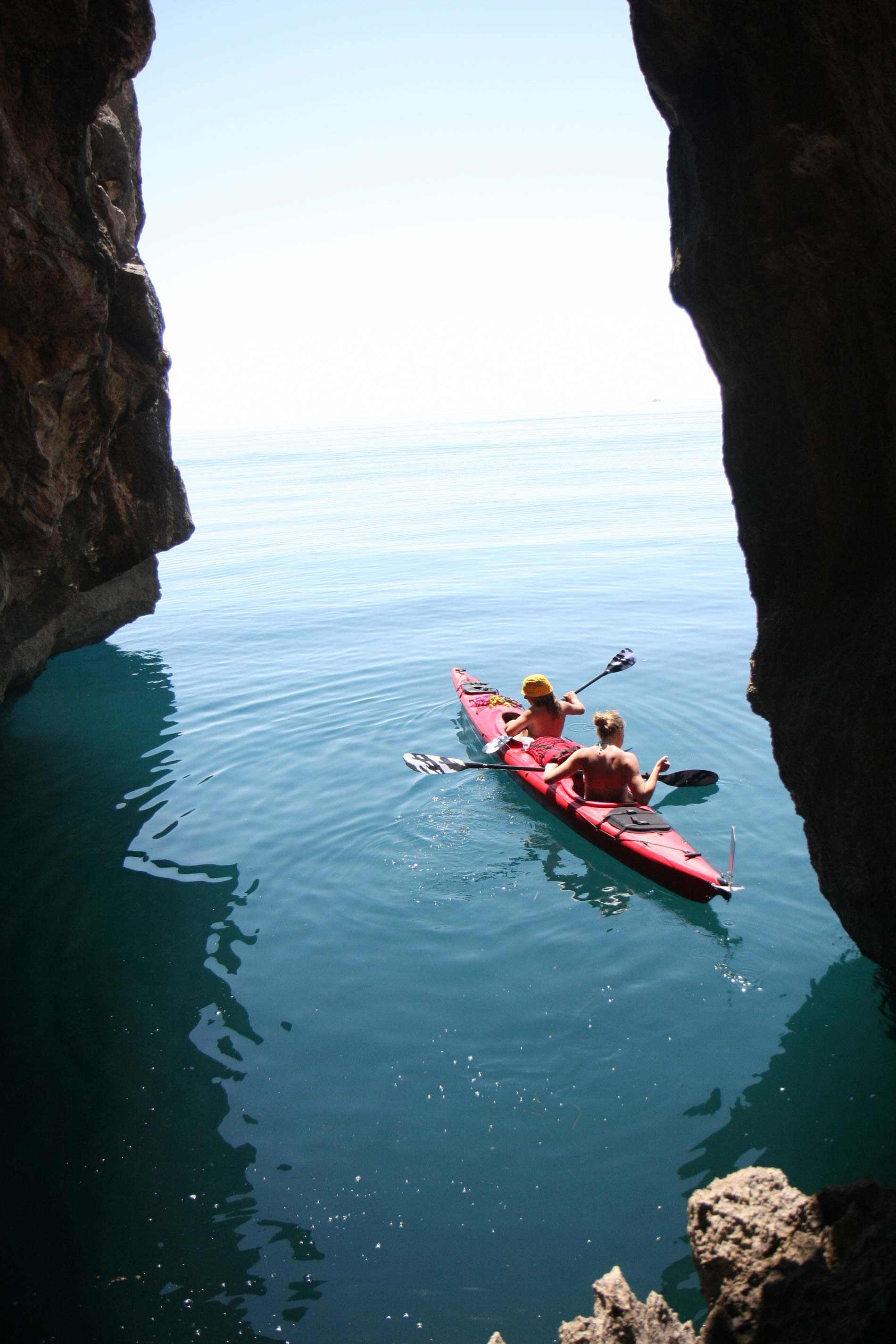 Outdoor Albania Sea Kayaking Along The Albanian Riviera
