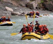 This rafting trip is for adventurous people who like to work in a team rafting albania