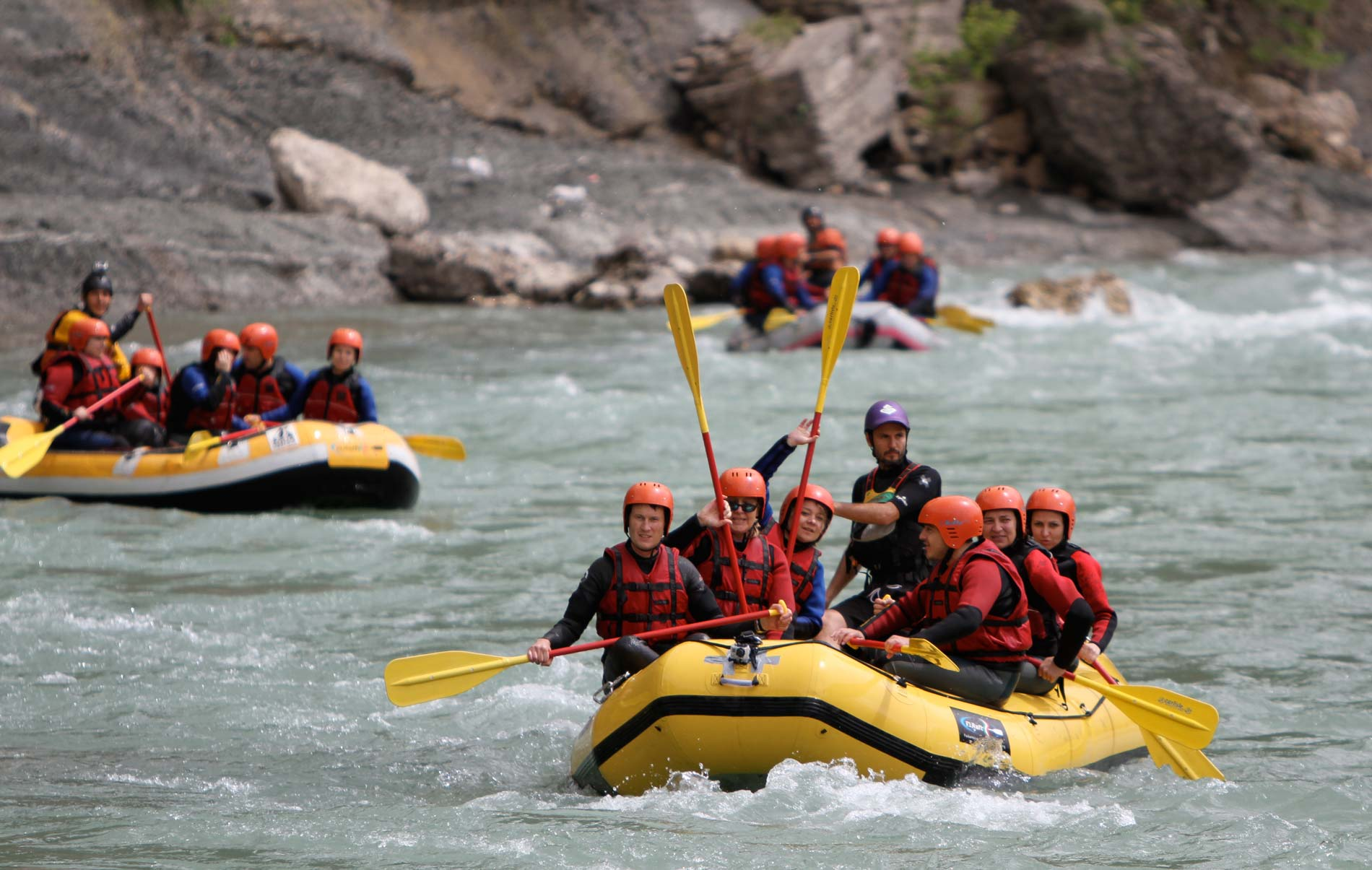 outdoor albania rafting in the marvelous vjosa valley