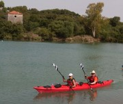 During this trip, we will paddle on the lake along pristine river beaches and farm houses. kayaking albania
