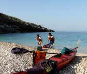 Kepi Rodonit kayak with Outdoor Albania