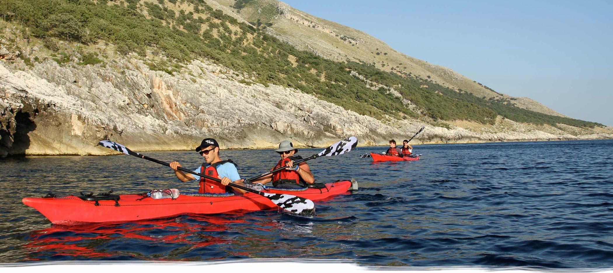 Sea-kayaking tours
