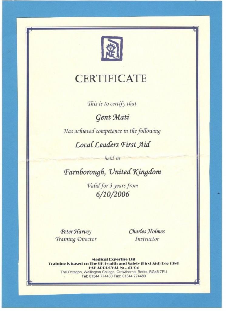 licenses  u0026 certificates  u2013 outdoor albania