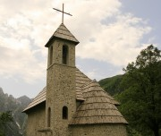 Thethi Church Self-guided Outdoor Albania walking hiking swimming cycling trekking rafting snowshoeing river hiking tours holidays travel family kayak ski yoga trekking Albania Western Balkans Peaks of the